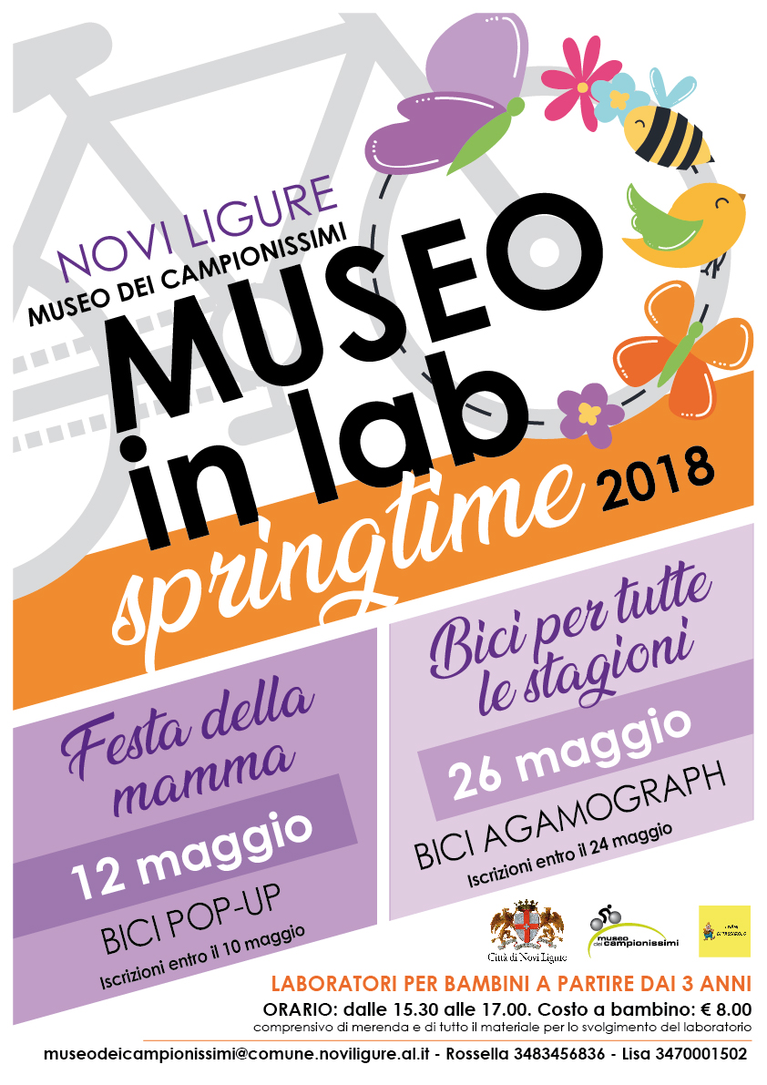 Museo in lab, Springtime 2018